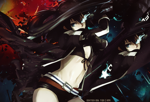 Black Rock Shooter by Elucidator18