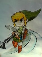 TOON LINK by SHADOW1797