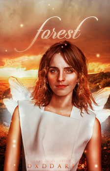 forest, wattpad cover by larriereligion