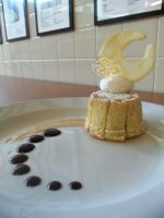 Plated Apple Charlotte by zamor438