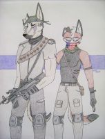rEbeL SolDierS by Huskypawz