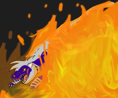 Not evan fire can stop me by XTwilight-SerenityX