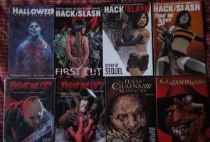My favorie Horror Comics I have. by slasherman