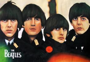 Beatles For Sale Poster by elooly
