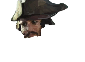 MS-Paint- Jack Sparrow WIP 2 by mel-lyks-cereal