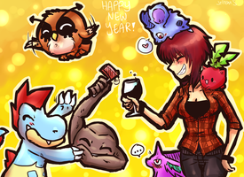 Nuzlocke New Year by TalaSeba