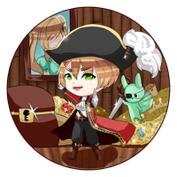 [Prize] Pirate Arthur by Chesle