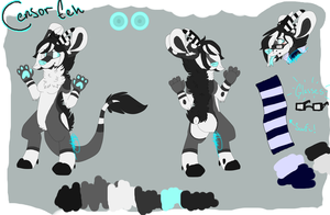Censor Eeh Reference Sheet by MysticWarrior156