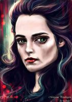 Morgana Pendragon by manulys