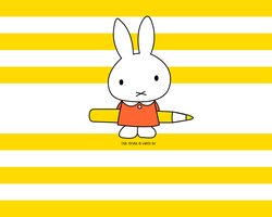 Random: Miffy Wallpaper by gear-mad