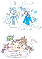 Rise of the Guardians scribbles by Kittychan2005