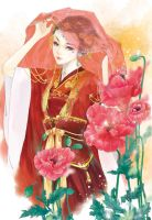 Chinese bride by gracezhan