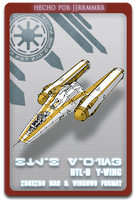 BTL-B Y-wing by jjrrmmrr