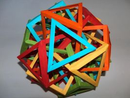 Ten Interlocking Prisms-second by Droserion
