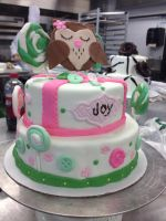 Owl Baby Cake by Gd00dle