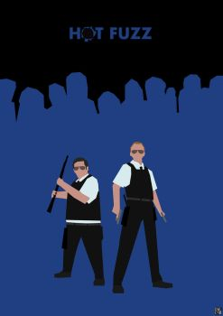 Blood and Ice Cream: Hot Fuzz by HerrOwley