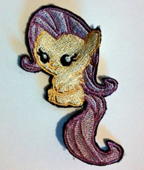 Baby Flutters Embroidered Patch by ravenlady13