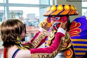 Anime Boston 2015 - Trainer and Guardian(PS) 09 by VideoGameStupid
