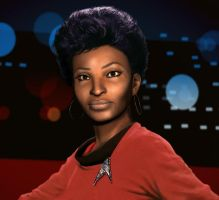 Uhura by xmas-kitty