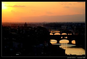 Above the Arno by GeraldWinslow