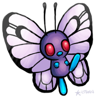 Butterfree by KAttAKIN
