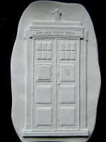 TARDIS - Finished Carving by FireVerseCeramics