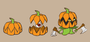 Pumpkin Mobs by Xiff