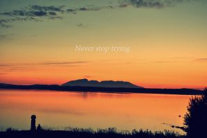 Never Stop by Siimediim