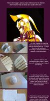 Saint Seiya Athena helmet tutorial by ShinjusWorkshop