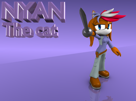 Pc: Nyan the cat by Argos90
