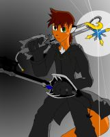 Oblivion and Oathkeeper: Kingdom Hearts Crossover by SageStrike2