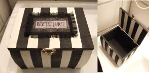Beetlejuice Secrets Box by TheLovelyBoutique
