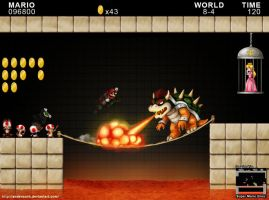 Final Battle -Super Mario Bros by AndersonH