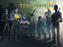 Team Fortress Classic Wallpaper by CyborgROX