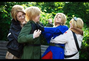APH: Family Fight by YamaCos