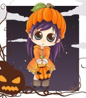 pumpkin girl.. by Renam