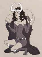 Lady!Loki by nanda16