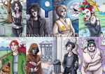 The Endless ACEO Set by CrystallineColey