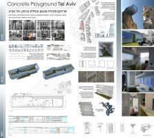 Concrete Playground - Tel Aviv by NoamM
