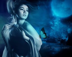 Blue Moon Risen by damilepidus