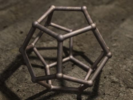 Rusty dodecahedron by Oskar-A