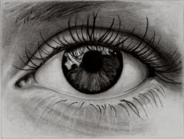 study of an eye by phaidor
