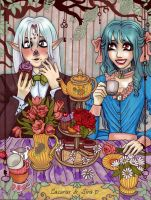 Gift ~ Tea for Two by Harmony-Walls