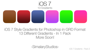 iOS 7 Gradients 2 by simalary44