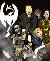 Skyrim Bunch by TheAnonymusWimp