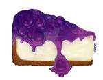 Blueberry Cheesecake by LexySama