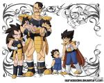 Nappa's Day Care by LauraDoodles