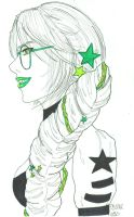 Galacticbent Jade Harley by pocketcheese