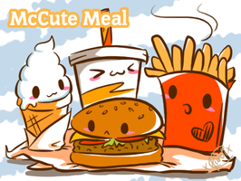 McCute Meal by xKuroiCloudx