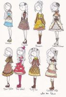 Cupcake Dresses Part 1 by WhotheGhost